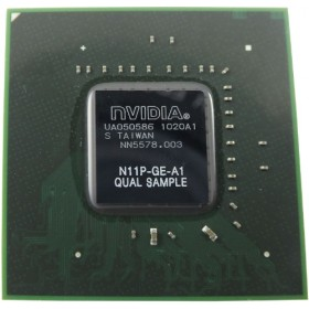 ERC-254 - Nvidia  N11P-GE-A1 QUAL SAMPLE Notebook Anakart Chipset